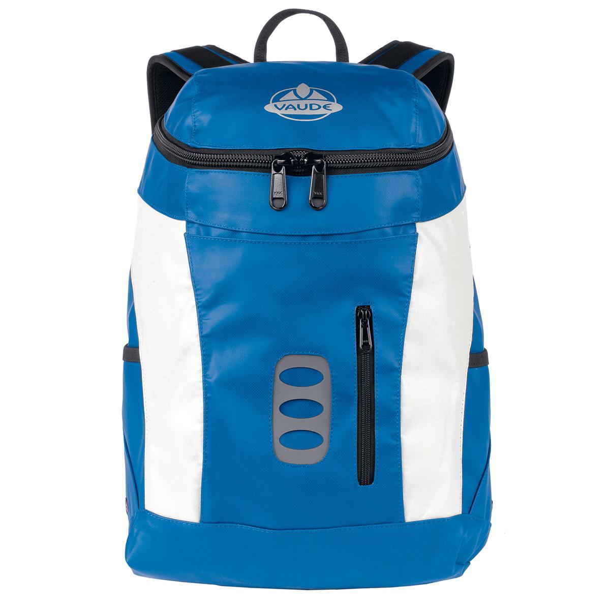 vaude xaver rucksack daypack tarpolin lkw plane blau ebay. Black Bedroom Furniture Sets. Home Design Ideas