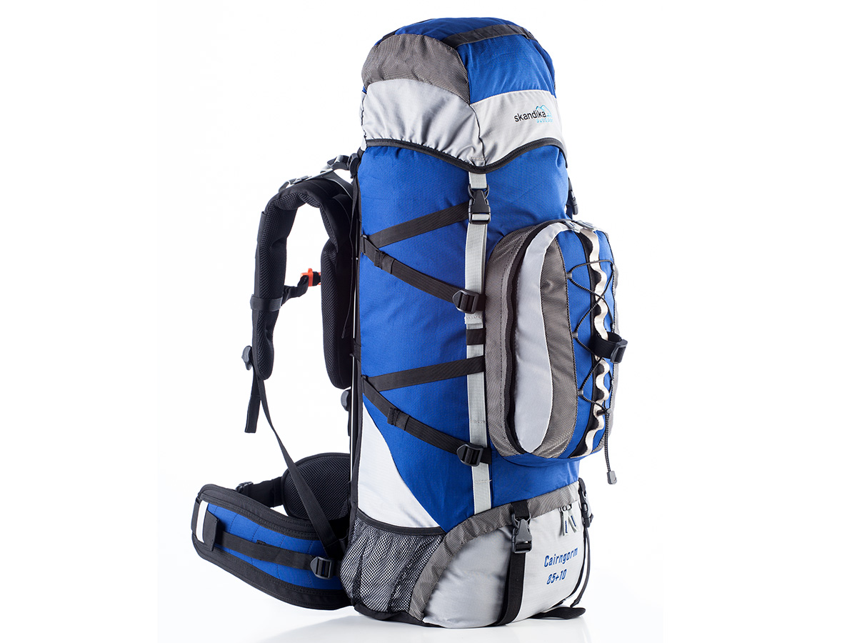 skandika cairngorm 85 10 litres sac a dos trekking randonnee marche bleu neuf ebay. Black Bedroom Furniture Sets. Home Design Ideas