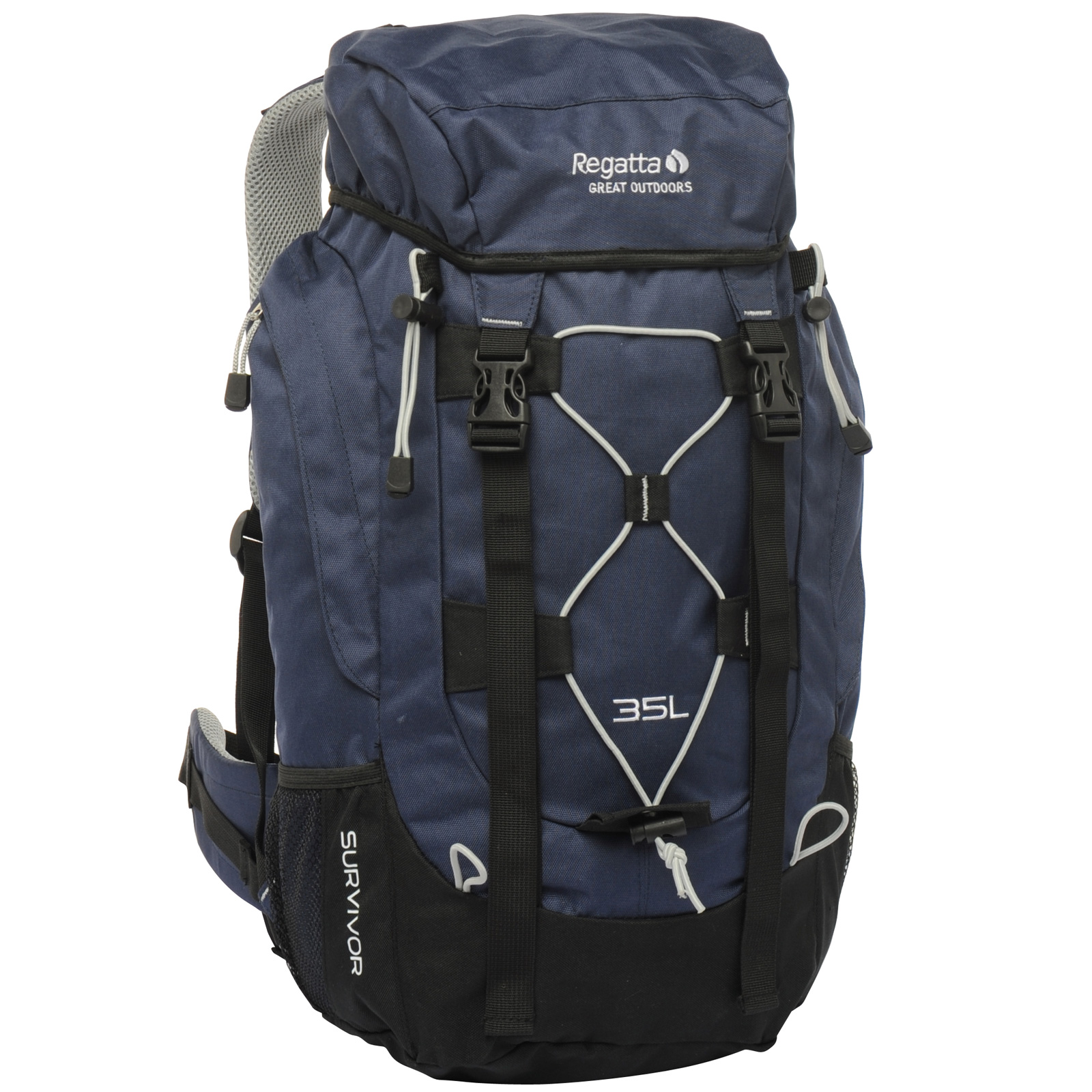 regatta survivor 35l trekking rucksack 35 liter blau neu. Black Bedroom Furniture Sets. Home Design Ideas