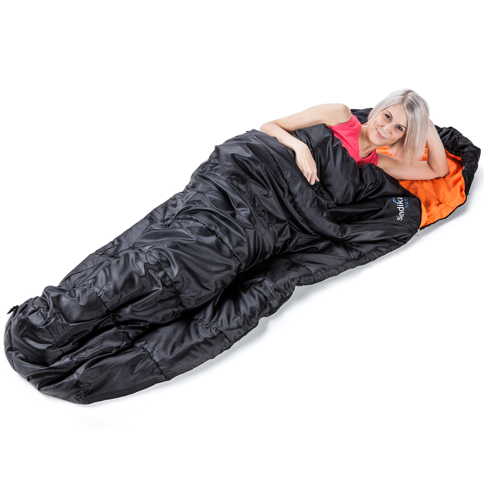 SKANDIKA VEGAS SLEEPING POD XXL BLACK SLEEPING BAG ...