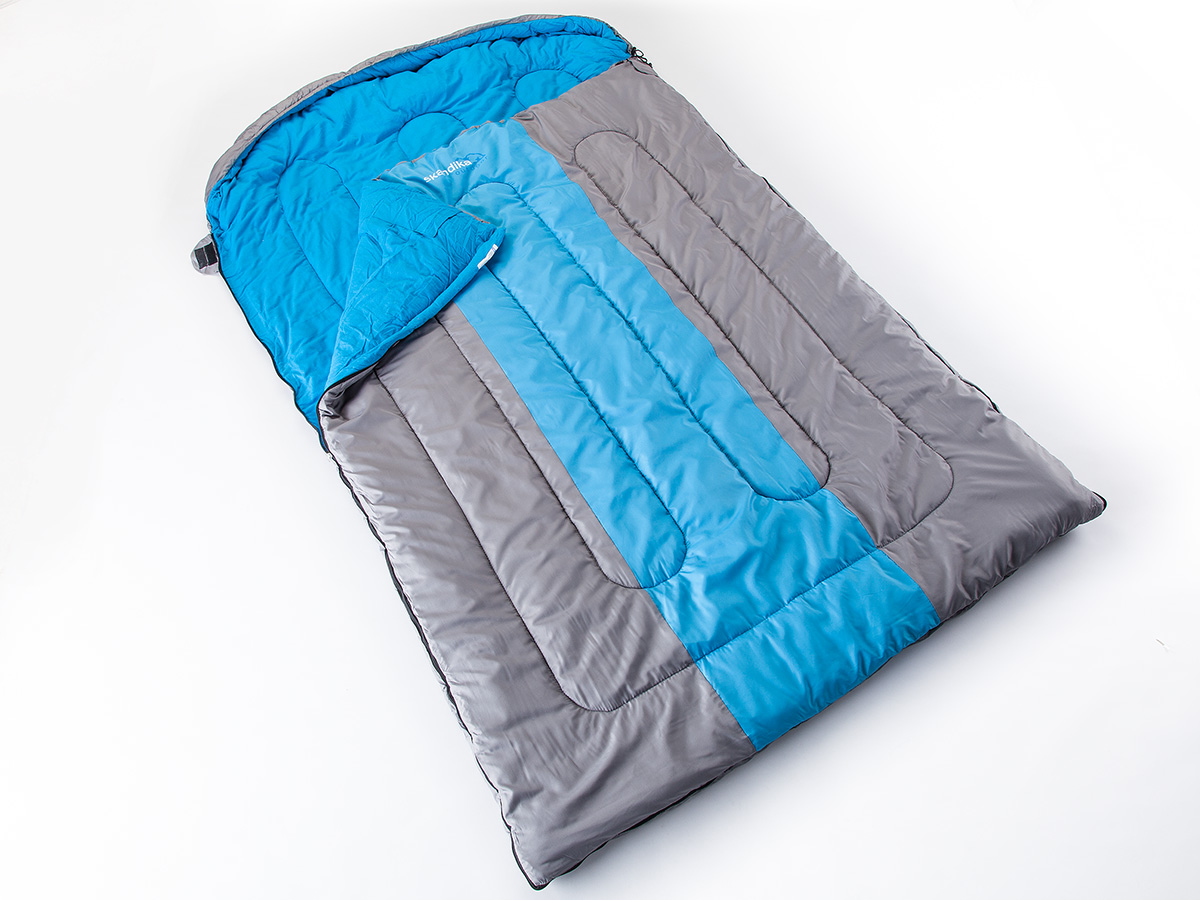 Skandika Orkney Double Sleeping Bag 2 Person 235x150 to ...