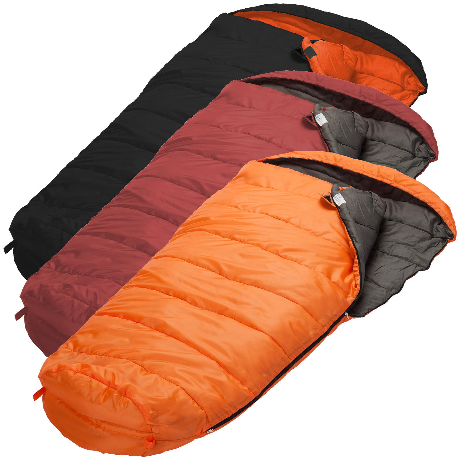 Skandika Vegas XL XTRA-Wide Sleeping Bag Adult Kids Left ...