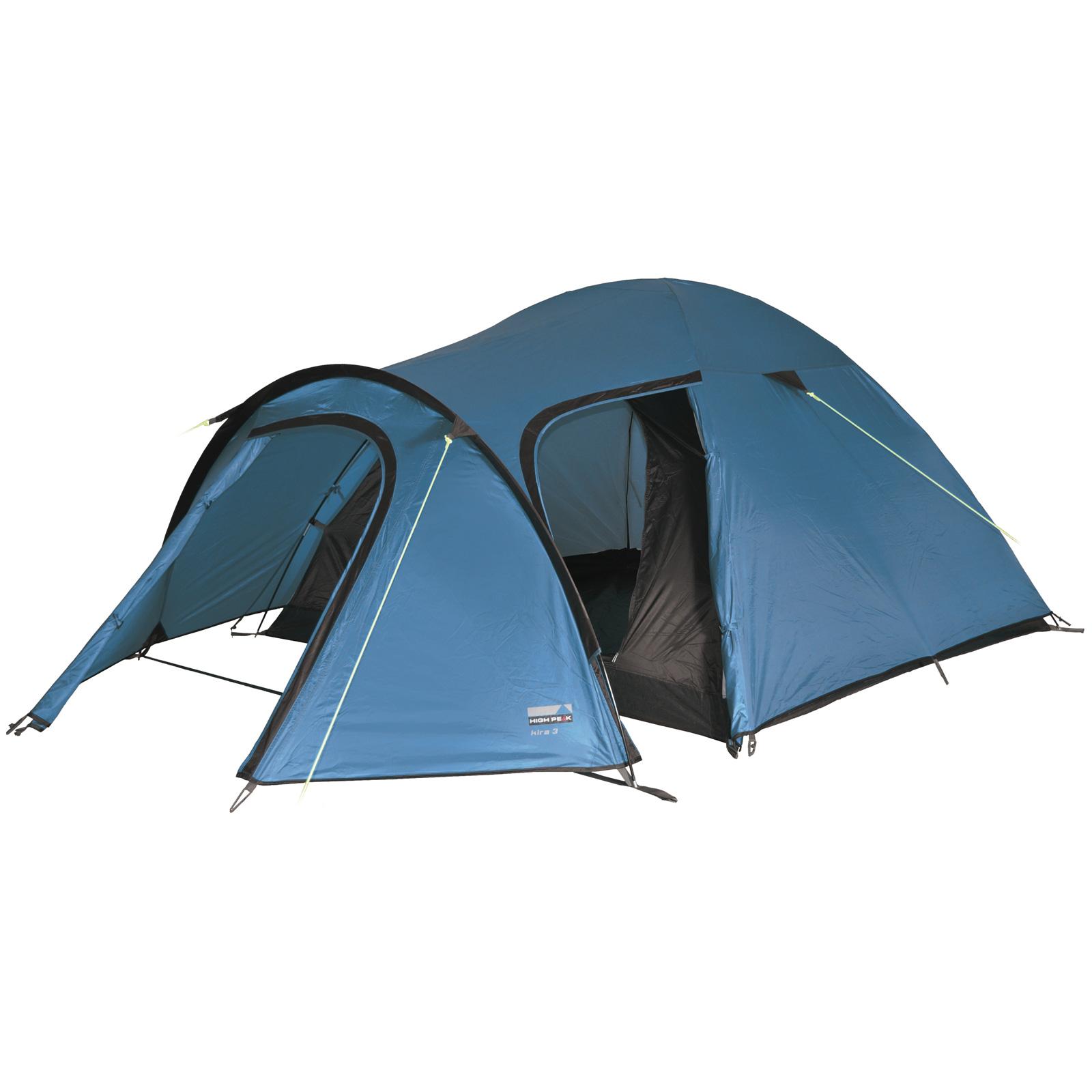 high peak kira 4 personen leichtes kuppelzelt iglu zelt neu ebay. Black Bedroom Furniture Sets. Home Design Ideas