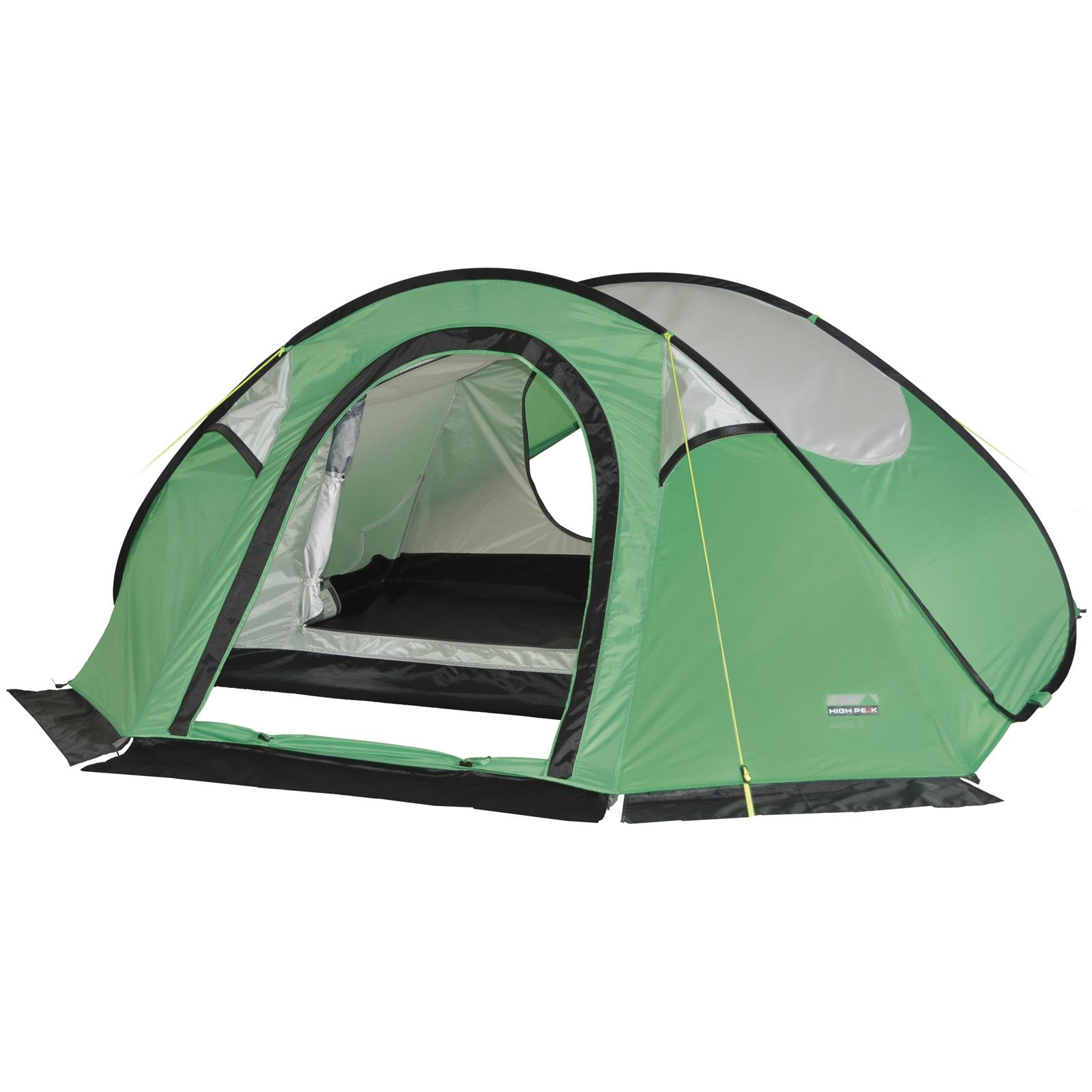 high peak salina 2 personen pop up zelt wurfzelt 2000 mm. Black Bedroom Furniture Sets. Home Design Ideas