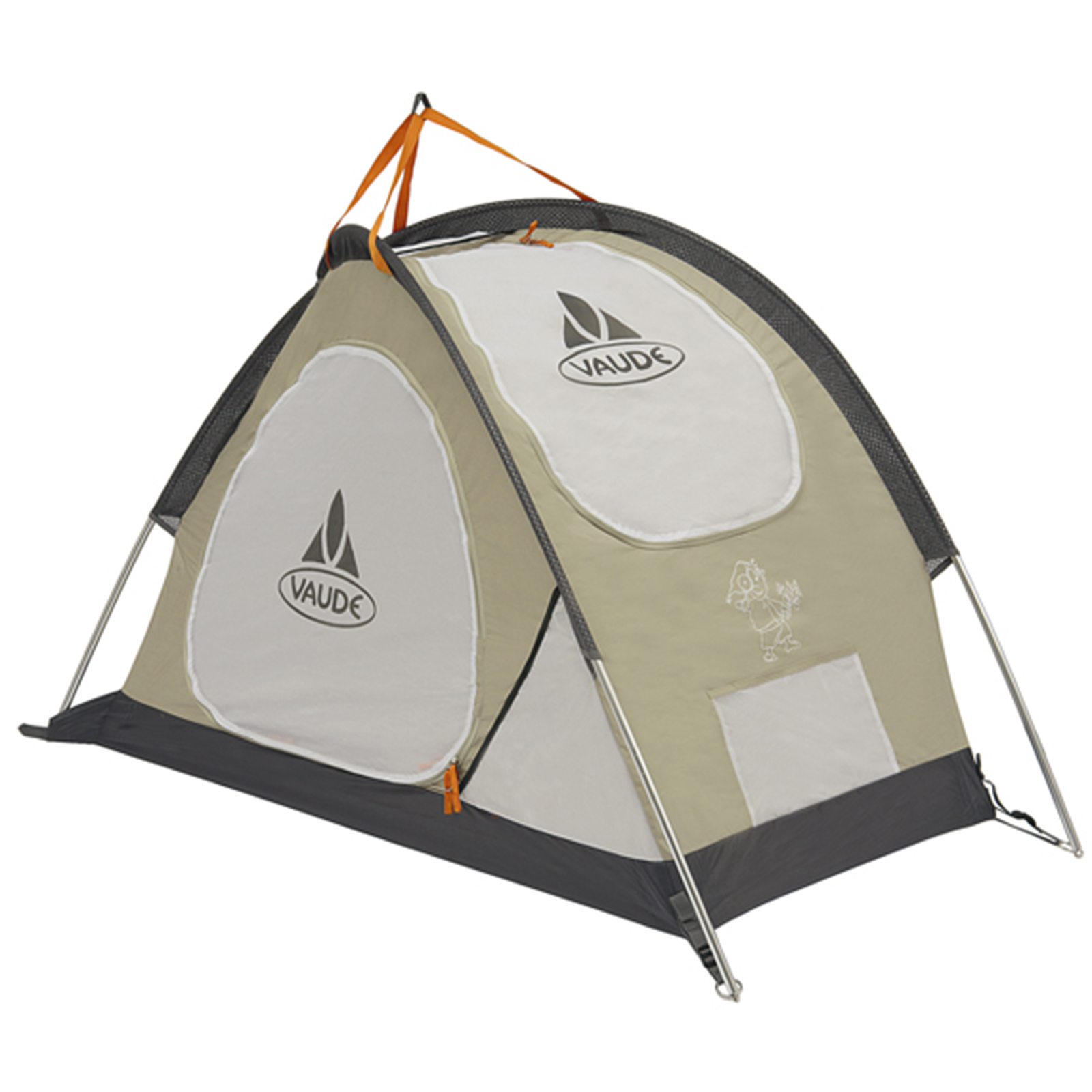 vaude baby tent babyzelt kinderzelt reisebett mod 2009 ebay. Black Bedroom Furniture Sets. Home Design Ideas