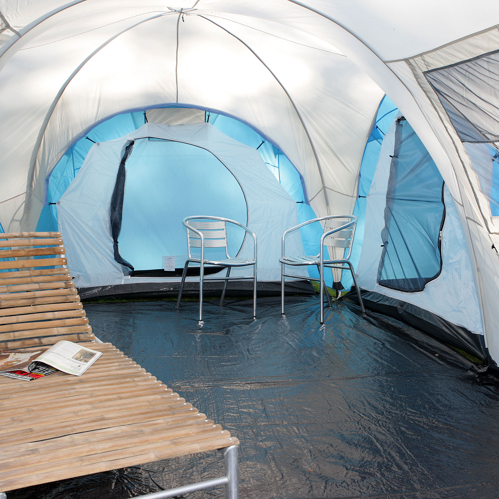 Zelt Toronto 6 : Das neue skandika toronto pers camping familienzelt