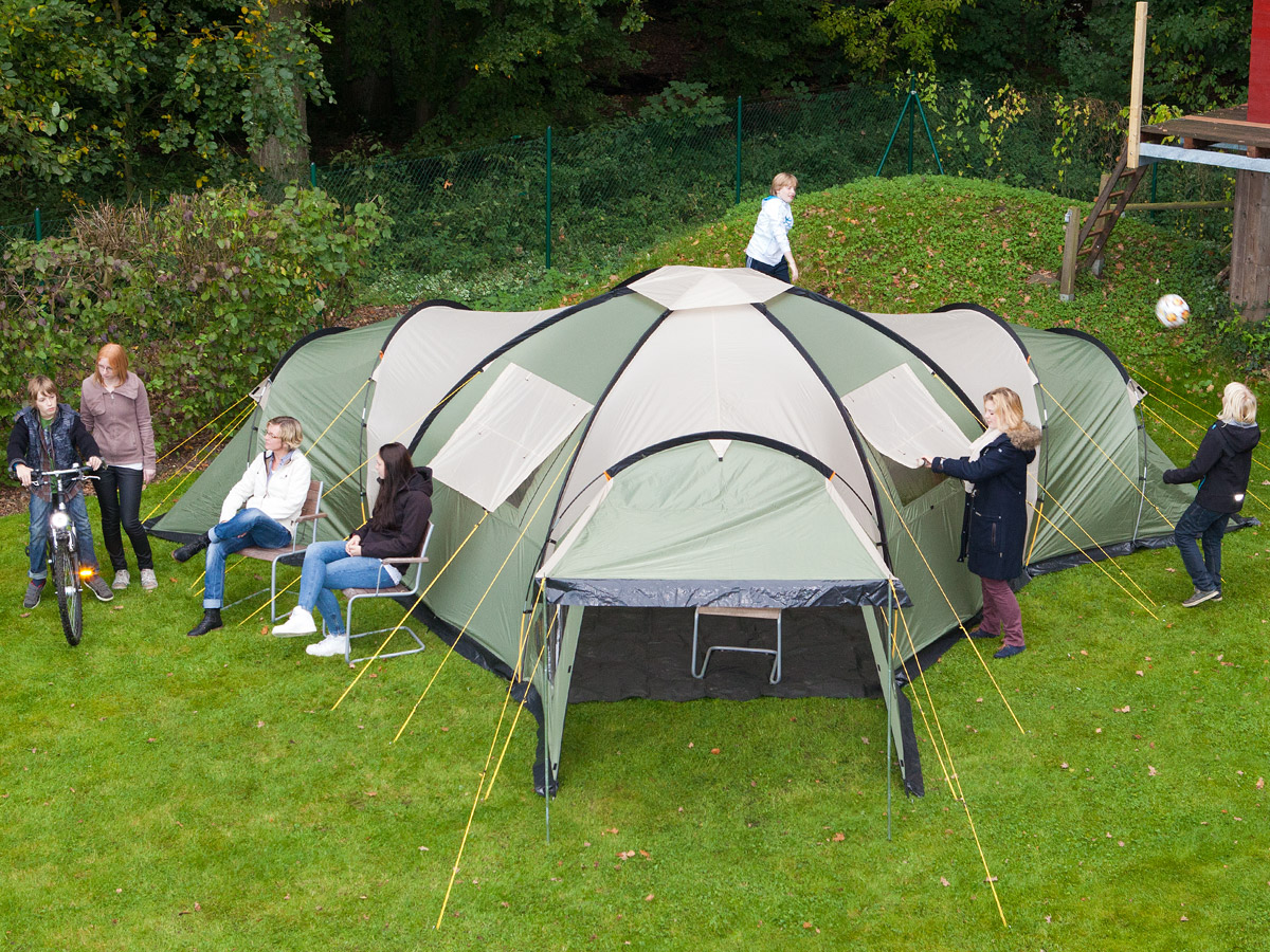 Skandika Korsika 8 Person Man Family Dome Camping Large