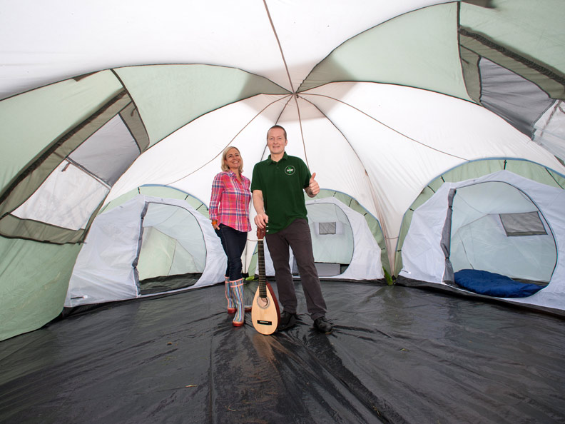 Zelt Korsika 3 : Skandika korsika personen camping familienzelt kabinen
