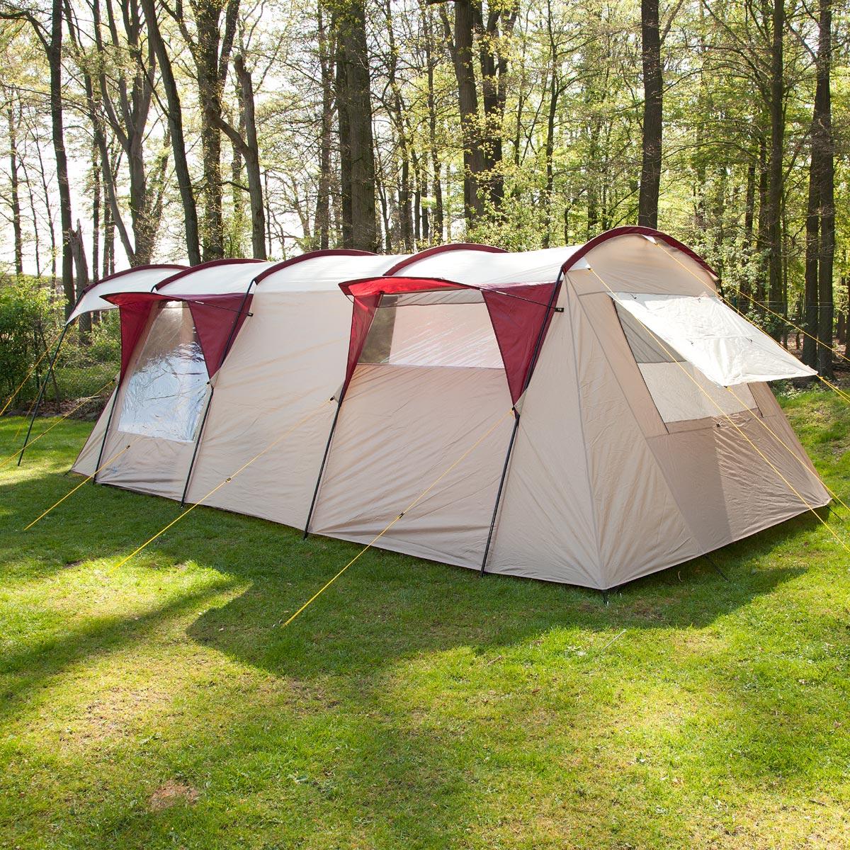 skandika trondheim 5 personen camping zelt gruppenzelt neu. Black Bedroom Furniture Sets. Home Design Ideas