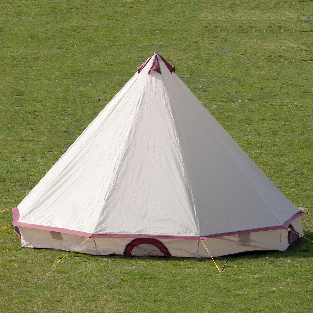 skandika comanche tente tipi indien camping 8 eprsonnes neuf ebay. Black Bedroom Furniture Sets. Home Design Ideas