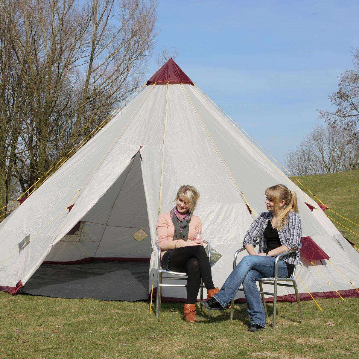 skandika tipii 300 wigwam zelt indianerzelt 2011 neu chf picclick ch. Black Bedroom Furniture Sets. Home Design Ideas