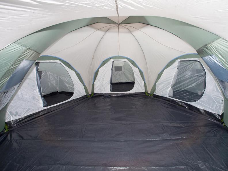 Zelt Mit 3 Kabinen : Skandika korsika personen camping familienzelt