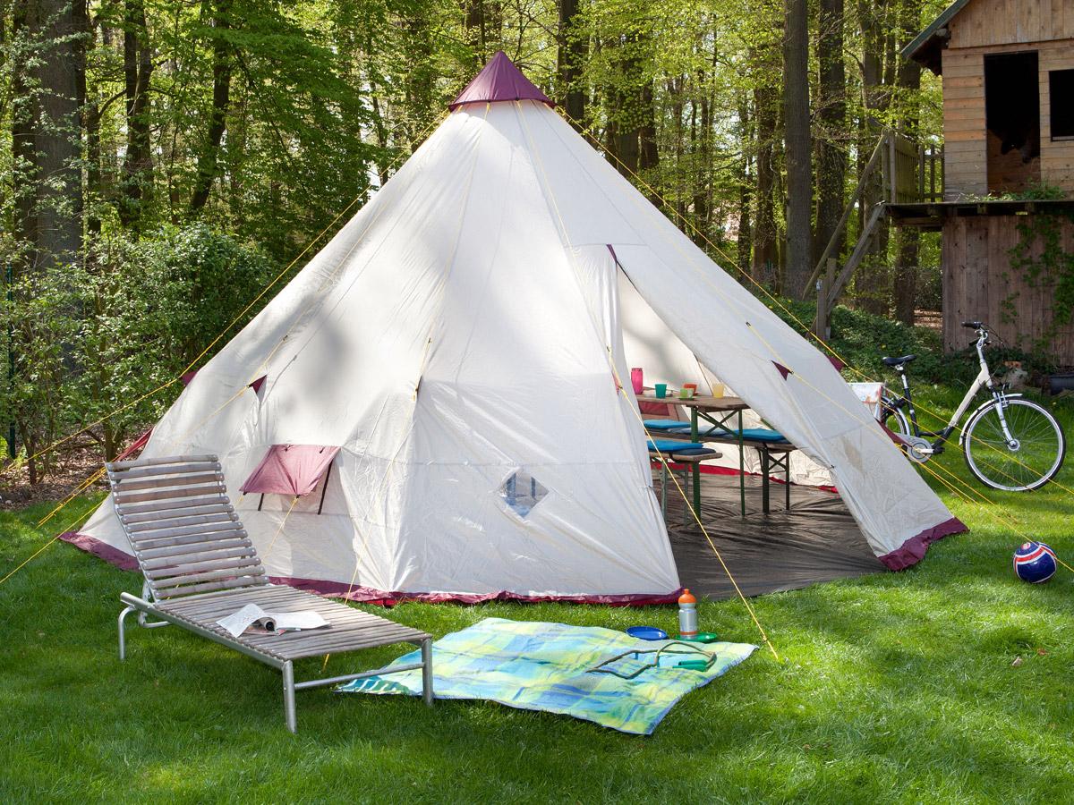 skandika tipii 300 tipi zelt wigwam outdoor indianerzelt neu ebay. Black Bedroom Furniture Sets. Home Design Ideas
