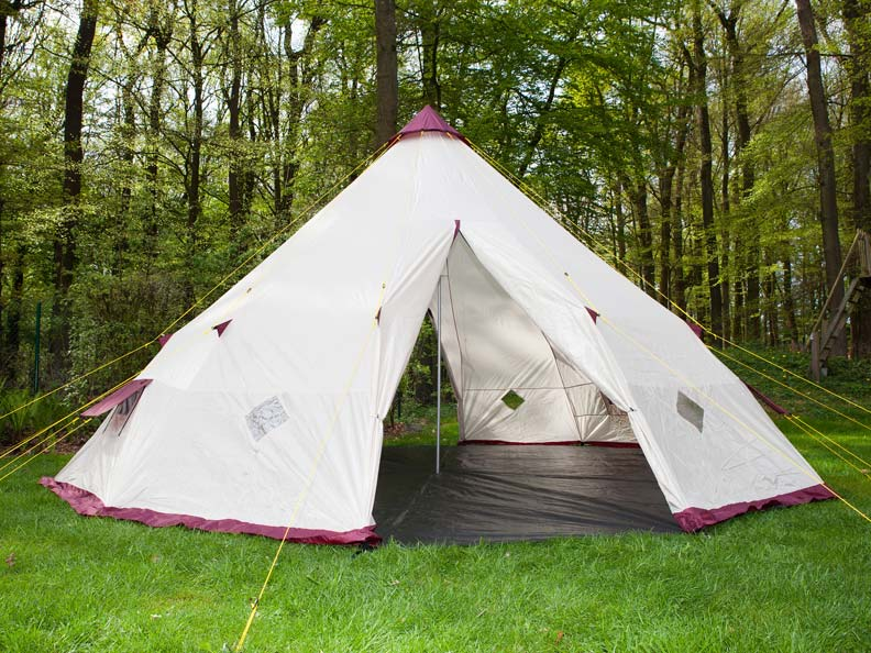 skandika tipii 300 tipi zelt wigwam indianerzelt 2014 neu ebay. Black Bedroom Furniture Sets. Home Design Ideas