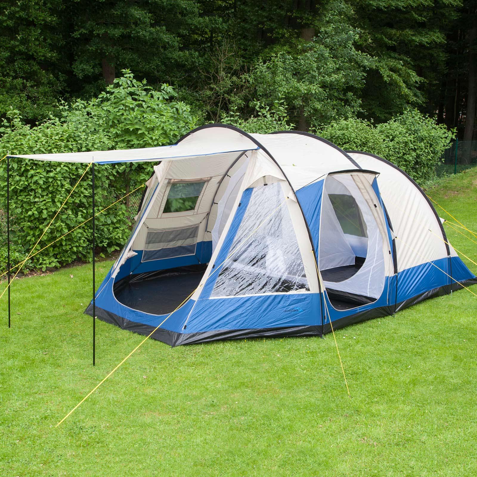 Zelt 5 Personen : Skandika lyon personen familienzelt camping zelt neu ebay