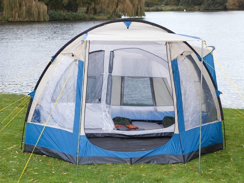 Zelt 5 Personen Stehhöhe : Skandika lyon personen familienzelt camping zelt neu ebay
