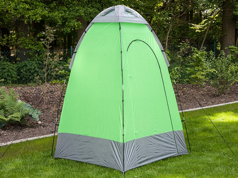 Skandika Shower Tent 130x130 Multifunction Vent 2m Height