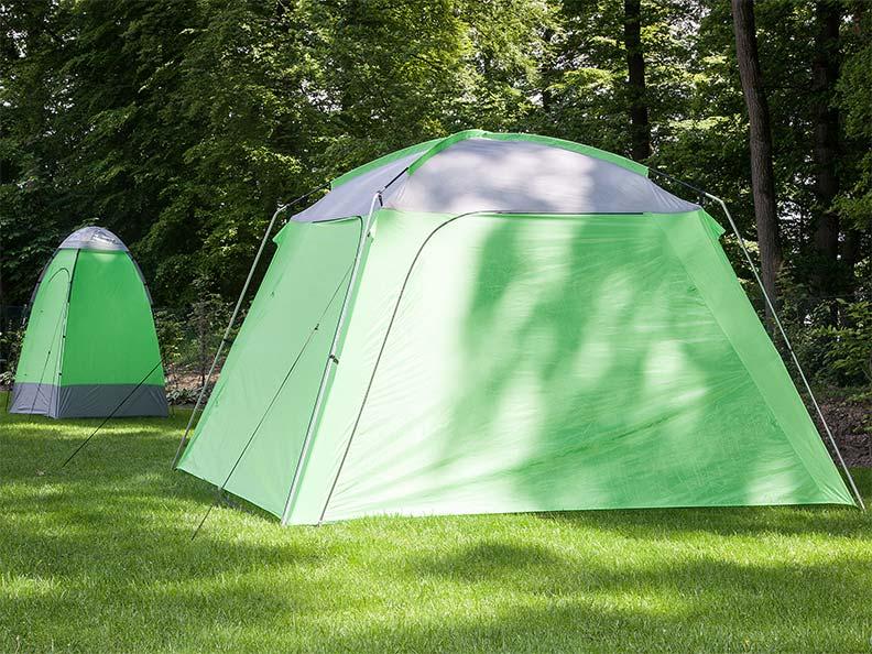 Skandika outdoor pavillon 300x300 cm stehh he 210 cm for Gartenpool 300 cm