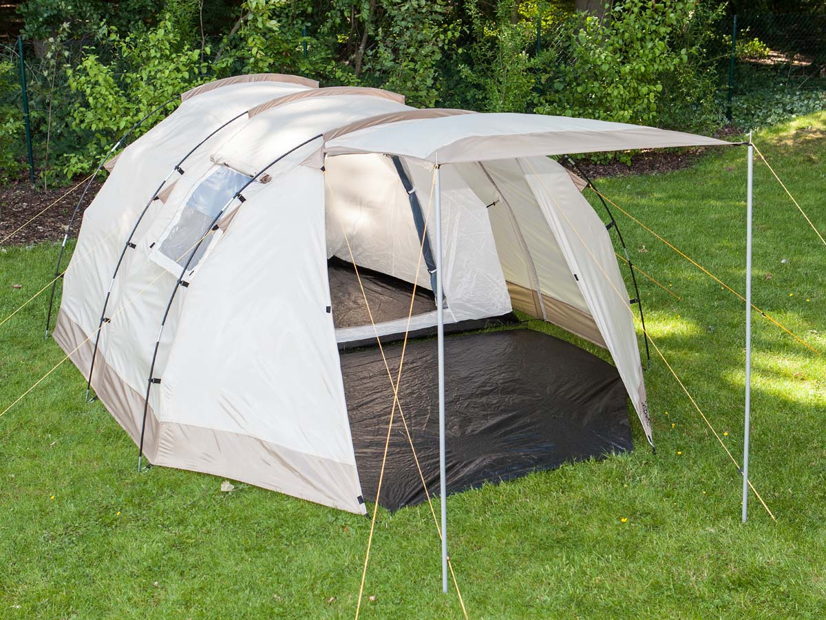 Details about Skandika Alavu 4 Person/Man Camping Tunnel Tent 3000mm