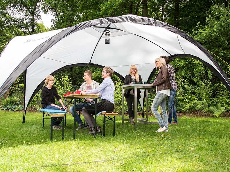 Skandika ascot pavillon tonnelle abri tente jardin fetes for Prix pavillon neuf