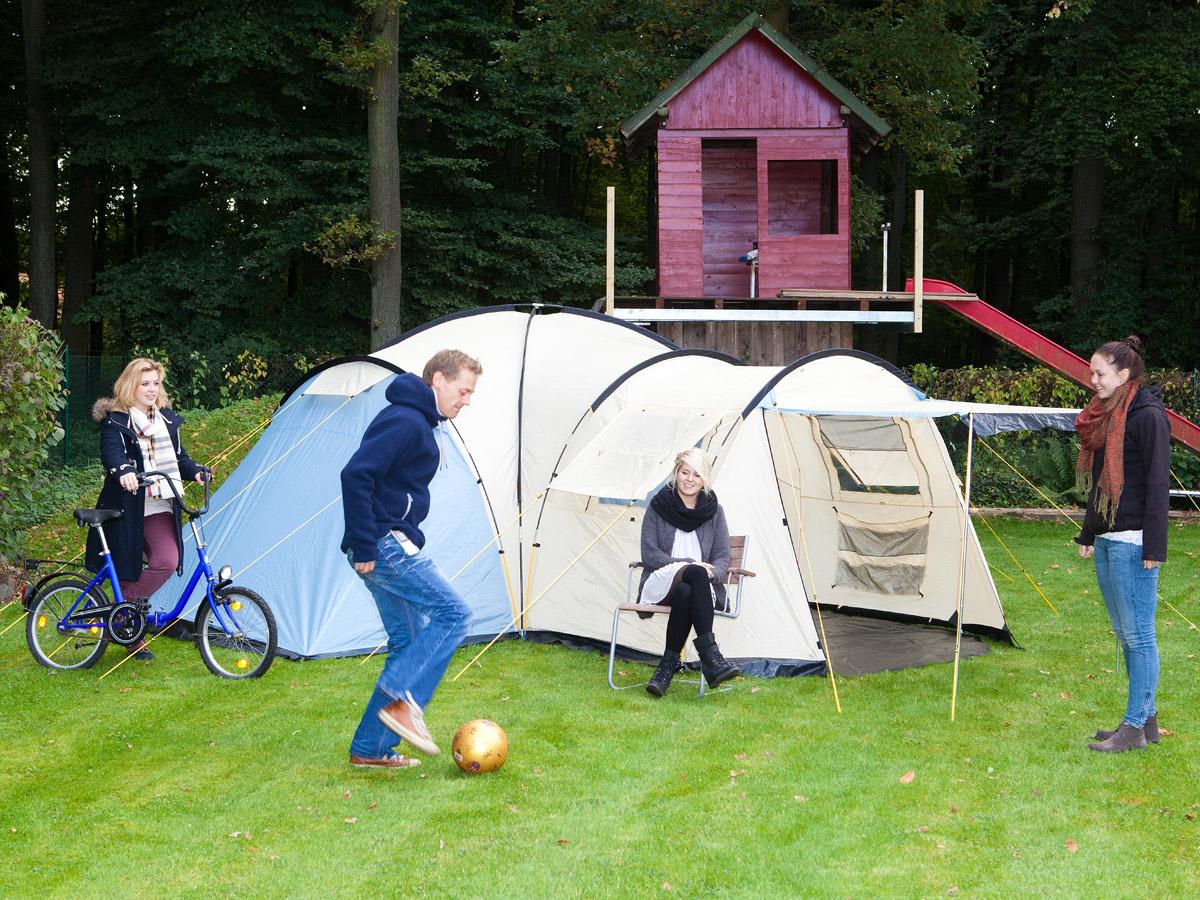 Skandika Toronto 6 Person Family Dome Camping Tent Large