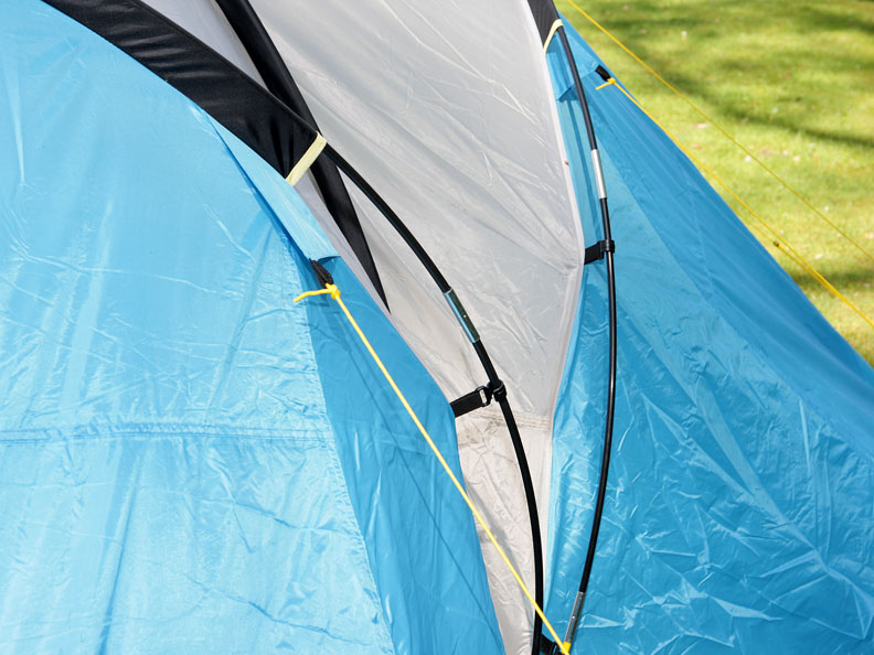Zelt Toronto 6 : Skandika toronto personen camping familienzelt kabinen
