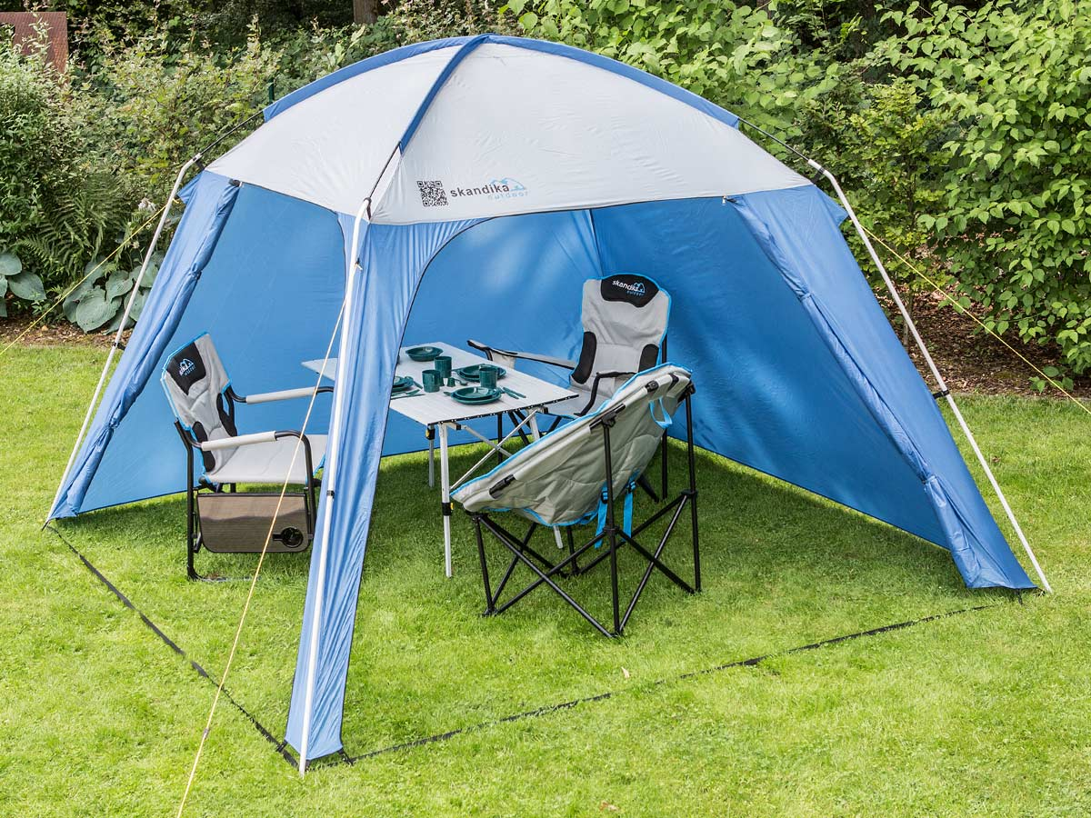 skandika pavillon outdoor camping 300x300 cm stehh he 210. Black Bedroom Furniture Sets. Home Design Ideas