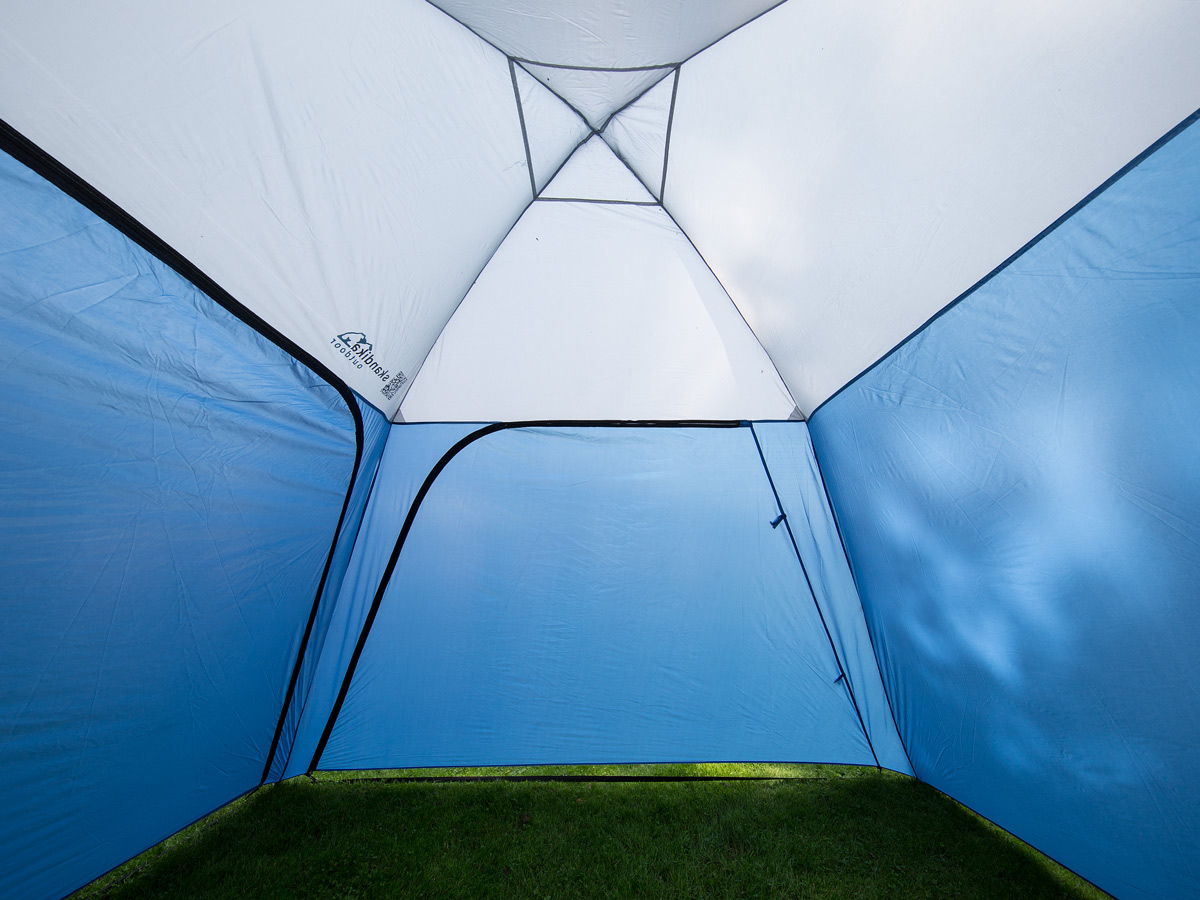 Skandika pavillon outdoor camping 300x300 cm stehh he 210 for Gartenpool 300 cm