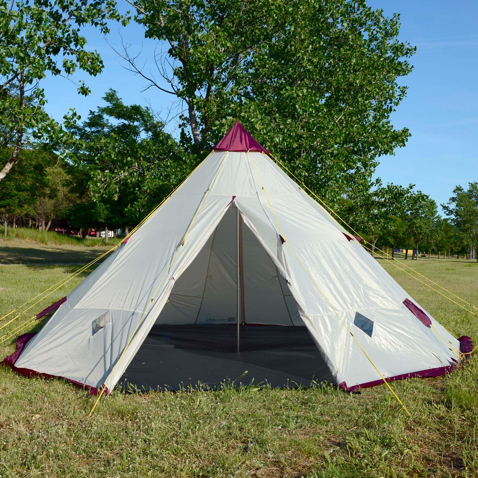 skandika-Teepee-250-Camping-Party-Festival-Tent-2-5-M-Height-3000mm-Column-New thumbnail 5