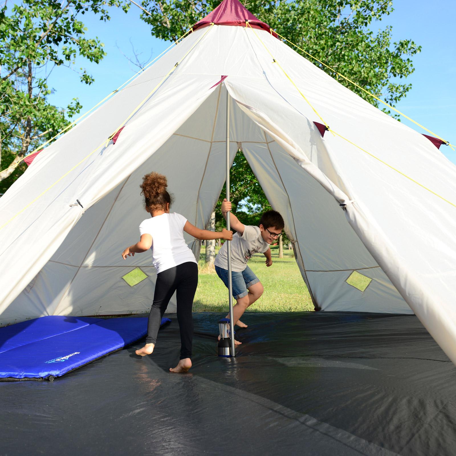 skandika-Teepee-250-Camping-Party-Festival-Tent-2-5-M-Height-3000mm-Column-New thumbnail 4