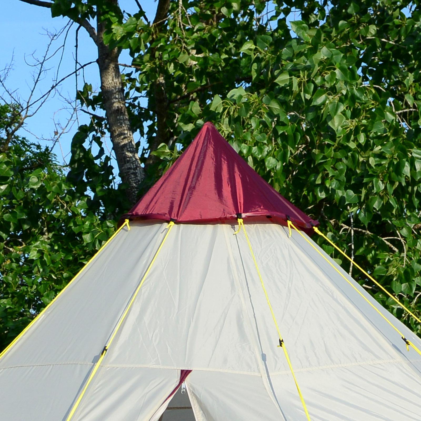 skandika-Teepee-250-Camping-Party-Festival-Tent-2-5-M-Height-3000mm-Column-New thumbnail 7
