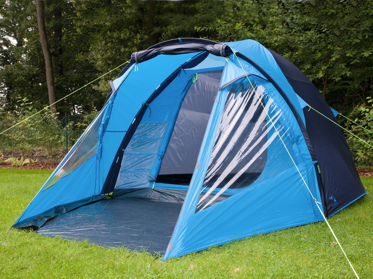 Skandika Drammen 4 Person Man Dome Group Tent Camping
