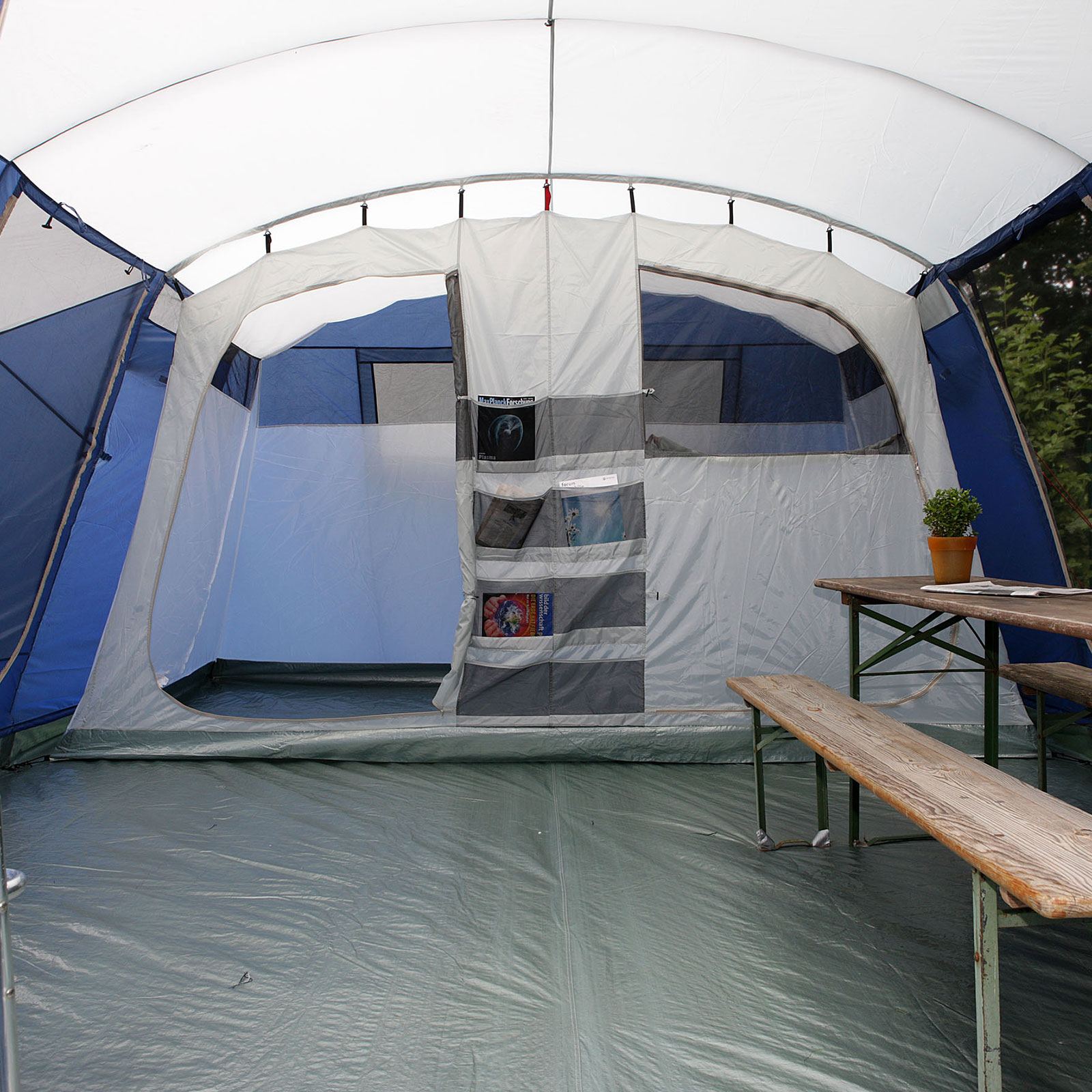 skandika milano 6 pers tente camping familiale 580x410 cm neuf eur 399 00 picclick fr. Black Bedroom Furniture Sets. Home Design Ideas
