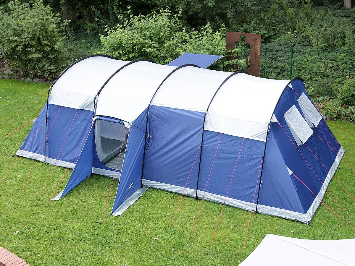 Skandika milano 10 person man tent family camping large for Wohnlandschaft 10 personen