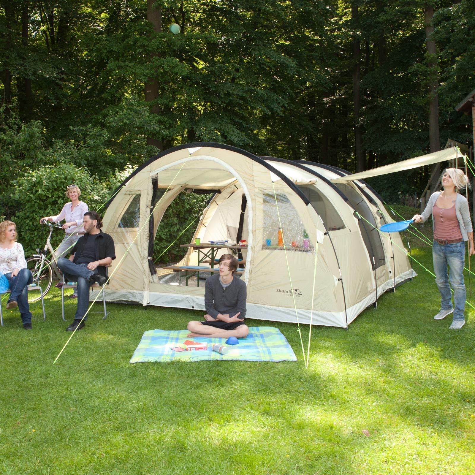 Zelt Gotland 5 : Skandika gotland gruppenzelt personen zelt
