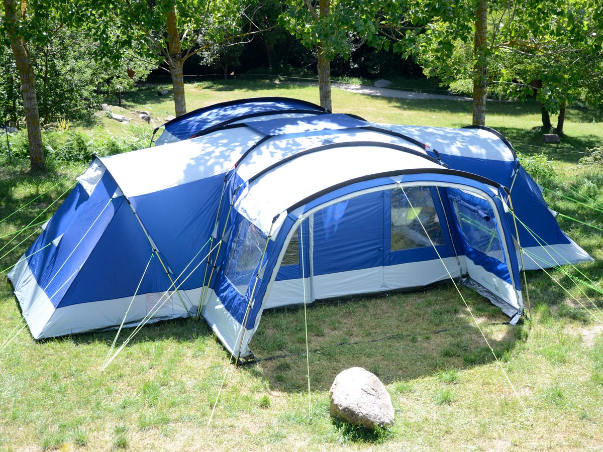 Skandika Nimbus 12 Person Man Xl Group Tent 4 Sleeping