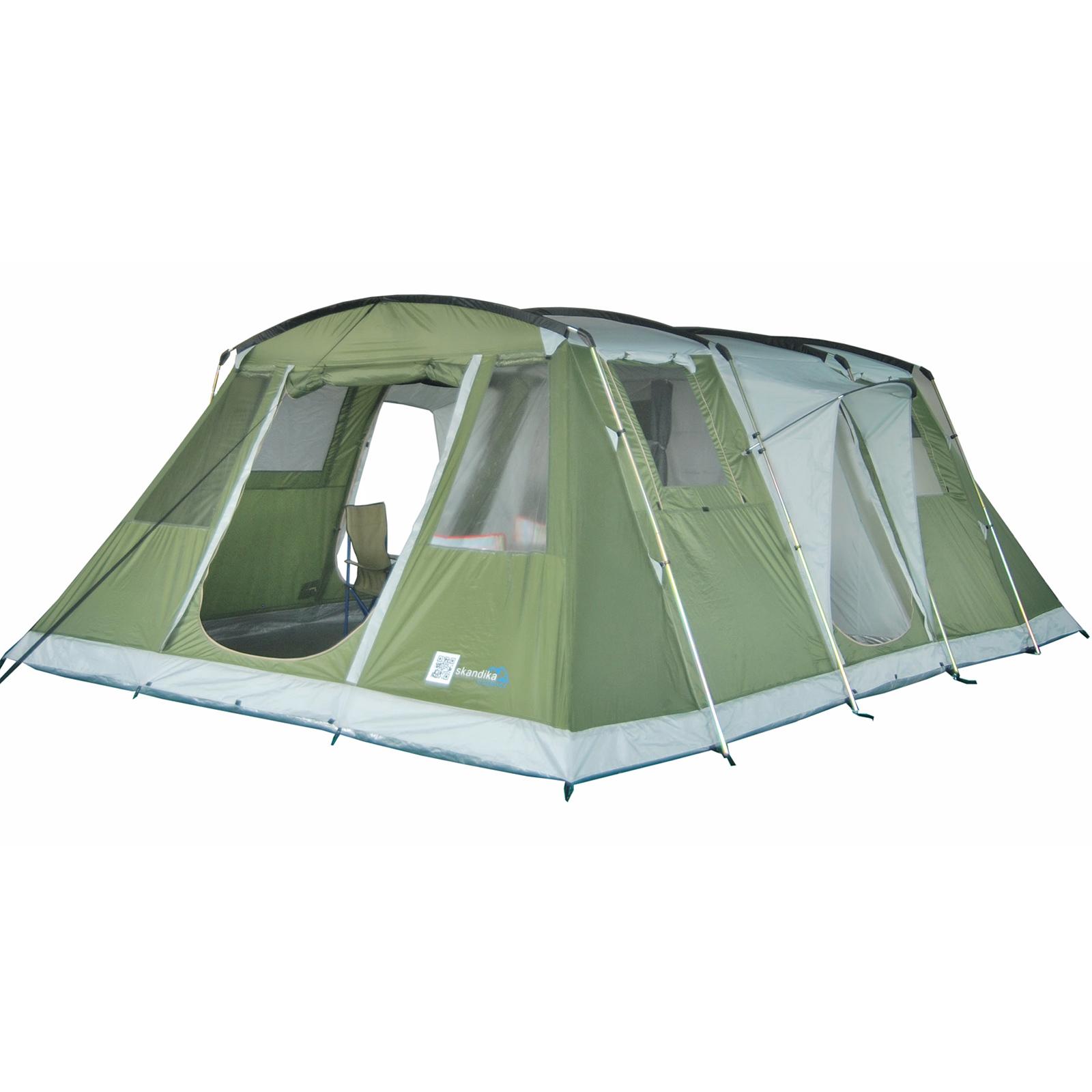 Skandika Zelt Kairo 6 : Skandika nizza familienzelt personen camping zelt uvp