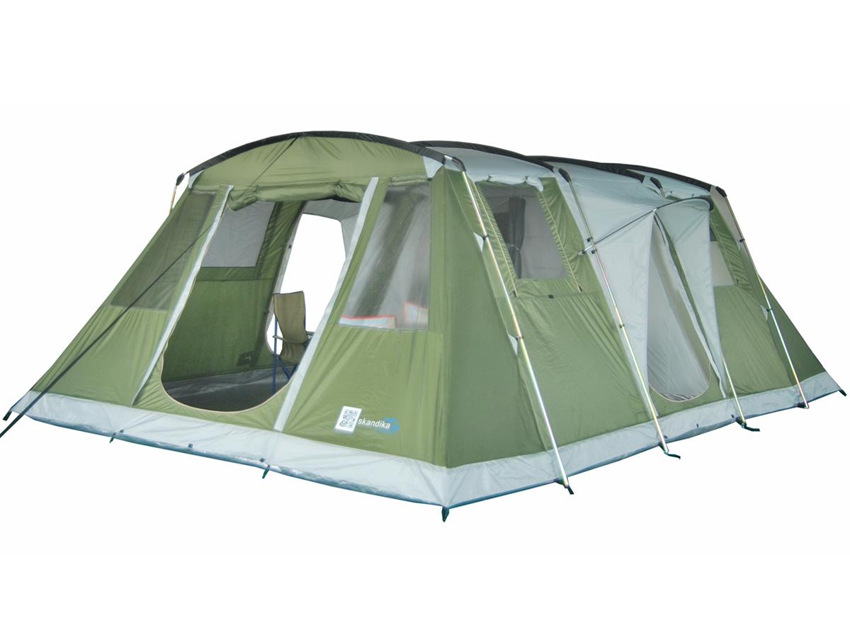 skandika nizza 6 pers tente familiale camping 574x400cm. Black Bedroom Furniture Sets. Home Design Ideas