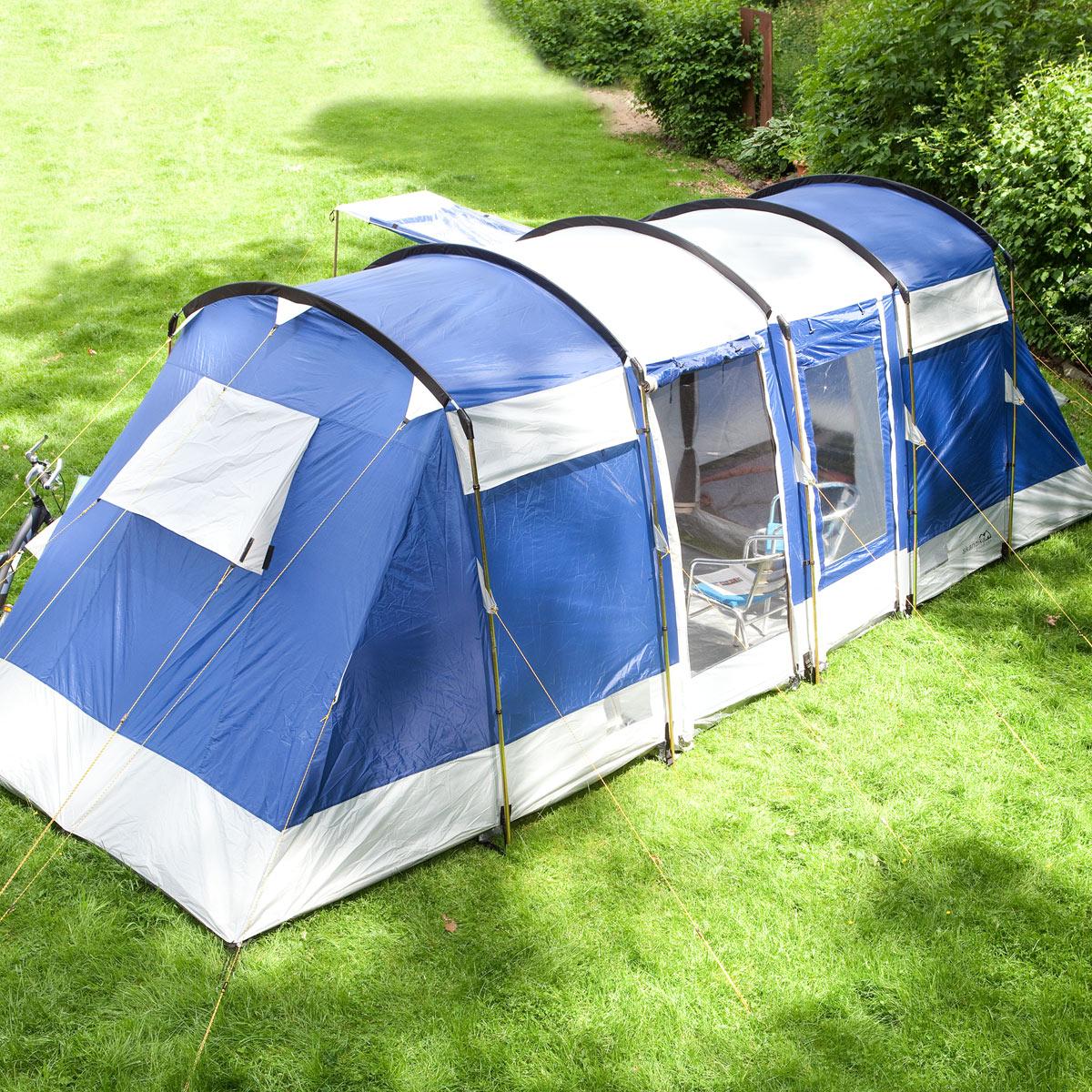 Camping Zelt 8 Mann : Skandika montana personen camping zelt familienzelt