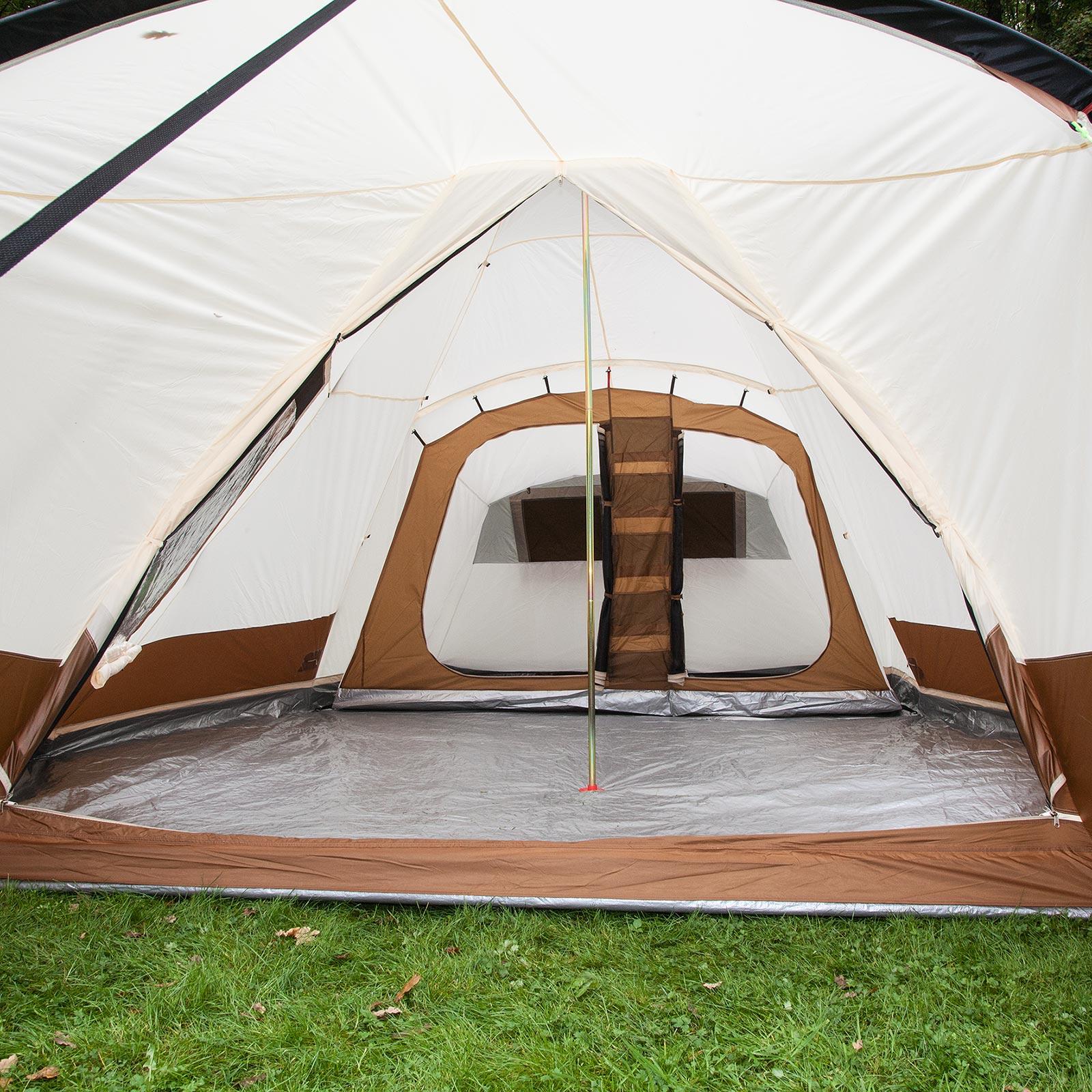 skandika navaho 5 personen indianer zelt tipi familienzelt 720x470cm braun neu eur 216 01. Black Bedroom Furniture Sets. Home Design Ideas