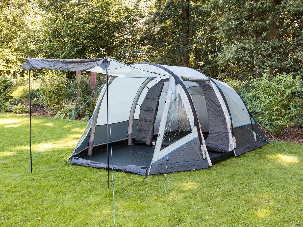 skandika folldal 4 air rise aufblasbares zelt 4 personen campingzelt neu ebay. Black Bedroom Furniture Sets. Home Design Ideas