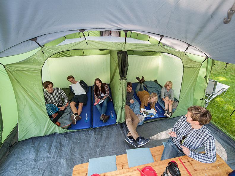 Zelt Skandika Nordland 6 Test : Skandika nordland personen familien camping zelt grÜn