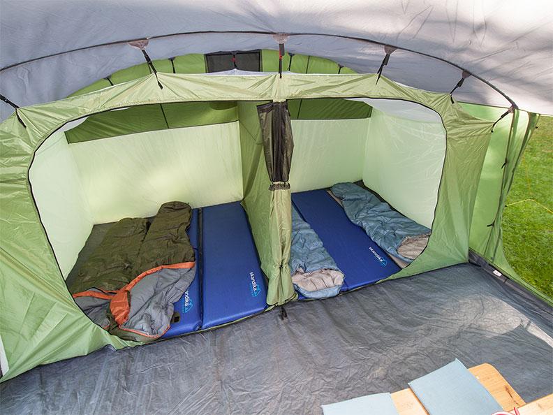 Zelt Skandika Nordland 6 Test : Skandika nordland personen camping familien zelt grÜn neu