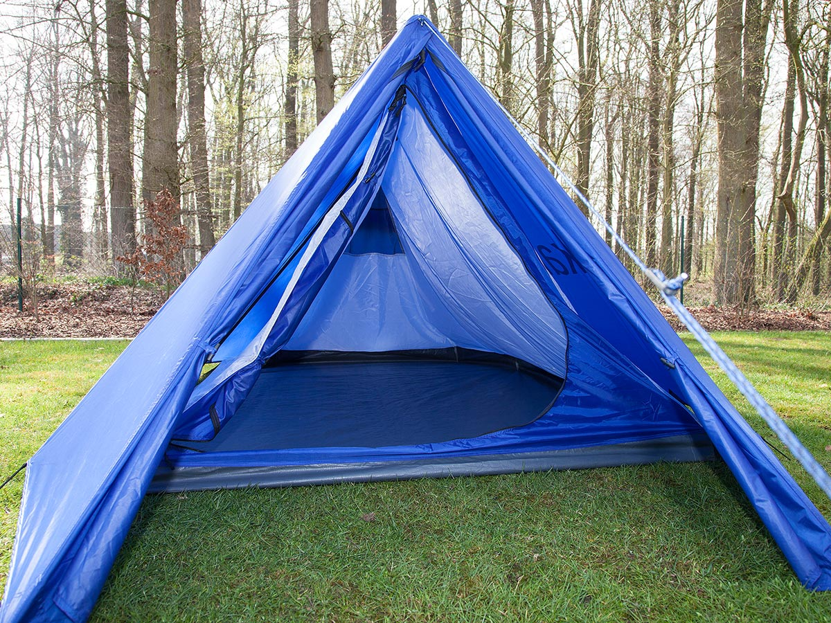 Skandika Retro Ridge Blue Tent Classic Festival 2 Person