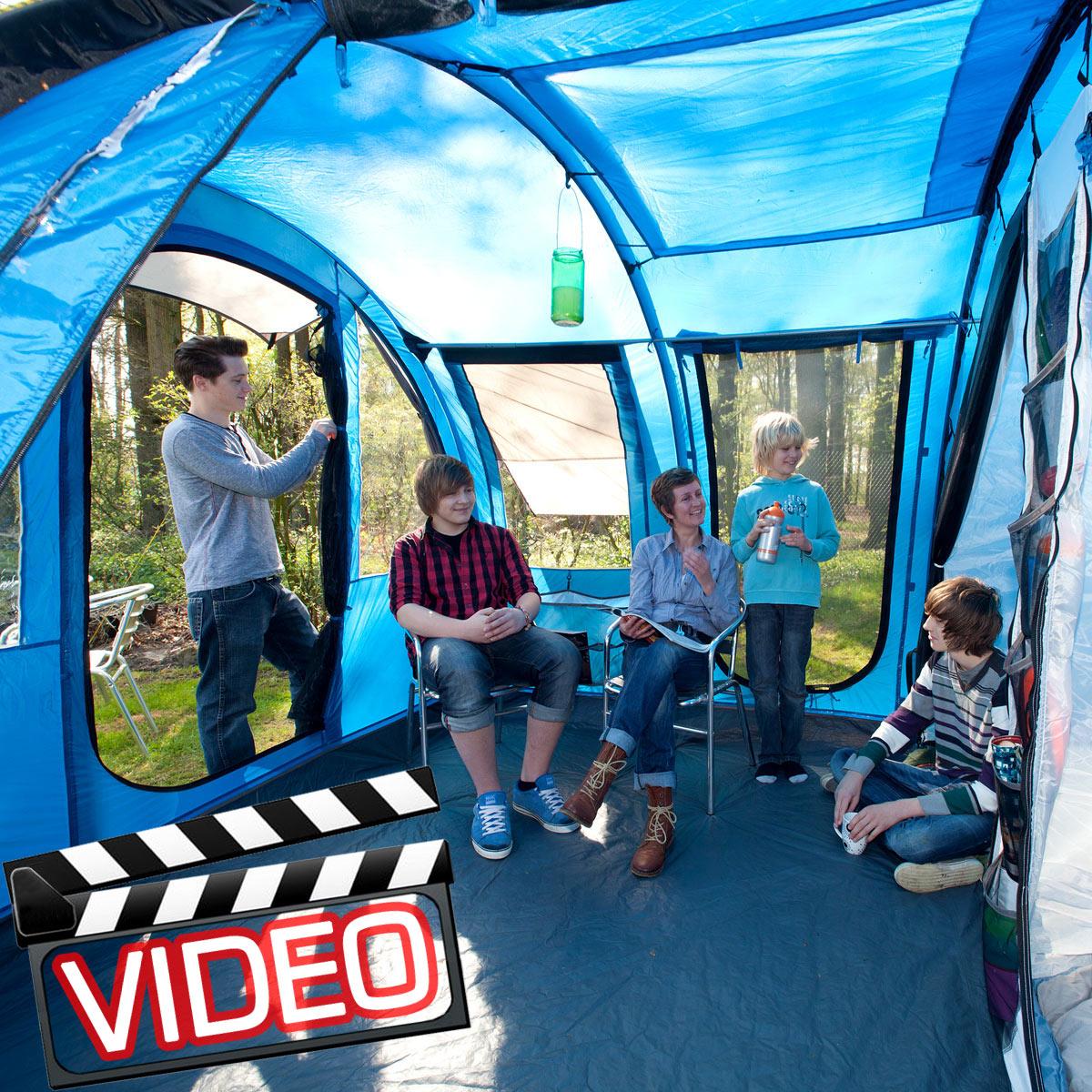 Zelt Torino 4 : Skandika torino pers familienzelt camping zelt neu ebay