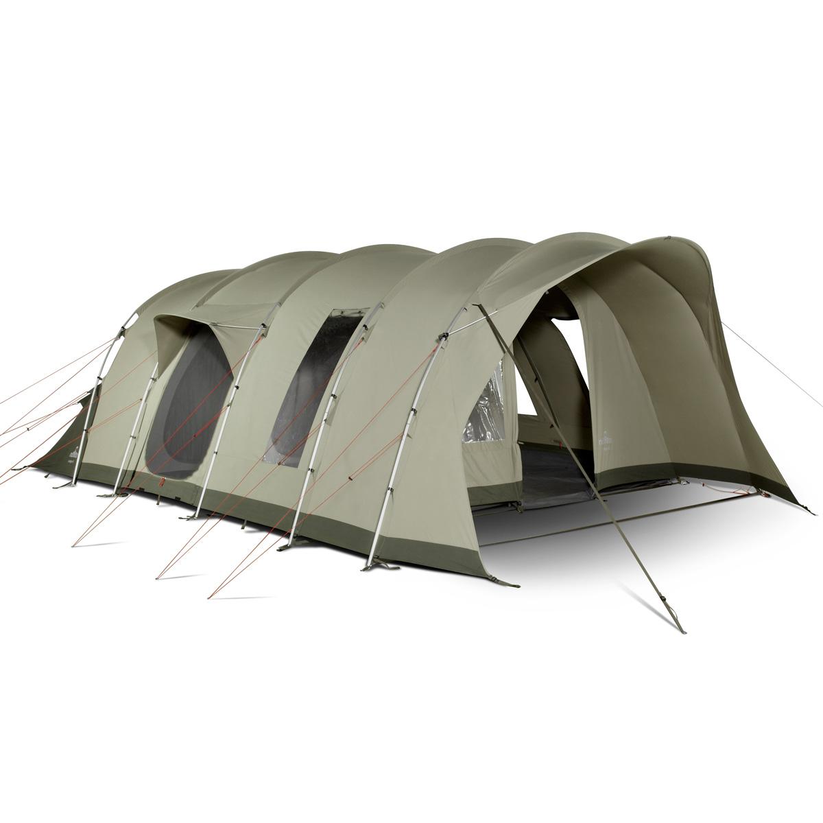 nomad lodge 6 air familien tunnelzelt 6 personen neu ebay. Black Bedroom Furniture Sets. Home Design Ideas