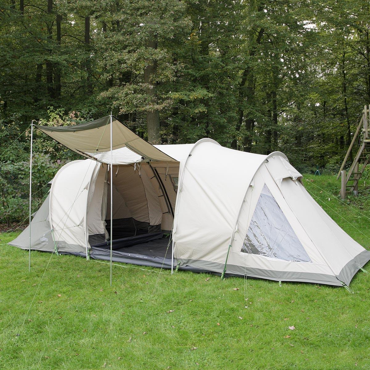 nomad touarec 5 air familien tunnelzelt 5 personen neu ebay. Black Bedroom Furniture Sets. Home Design Ideas