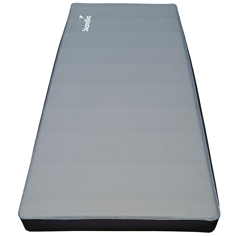 Skandika 3D Premium Single 195x80x10 cm Air Self Inflating Camping Mat Pad  NEU