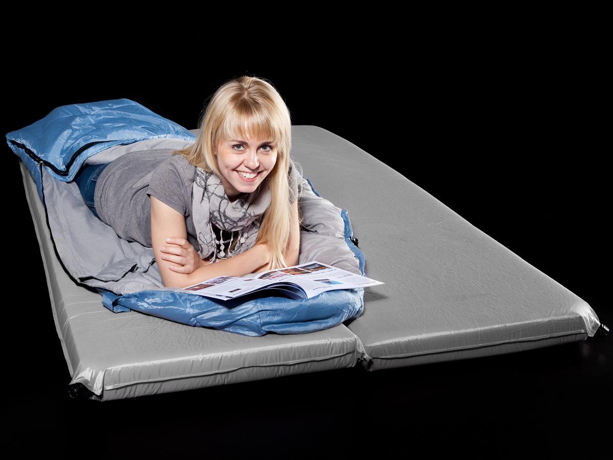 skandika isomatte deluxe double 190x120x10cm uvp 199. Black Bedroom Furniture Sets. Home Design Ideas