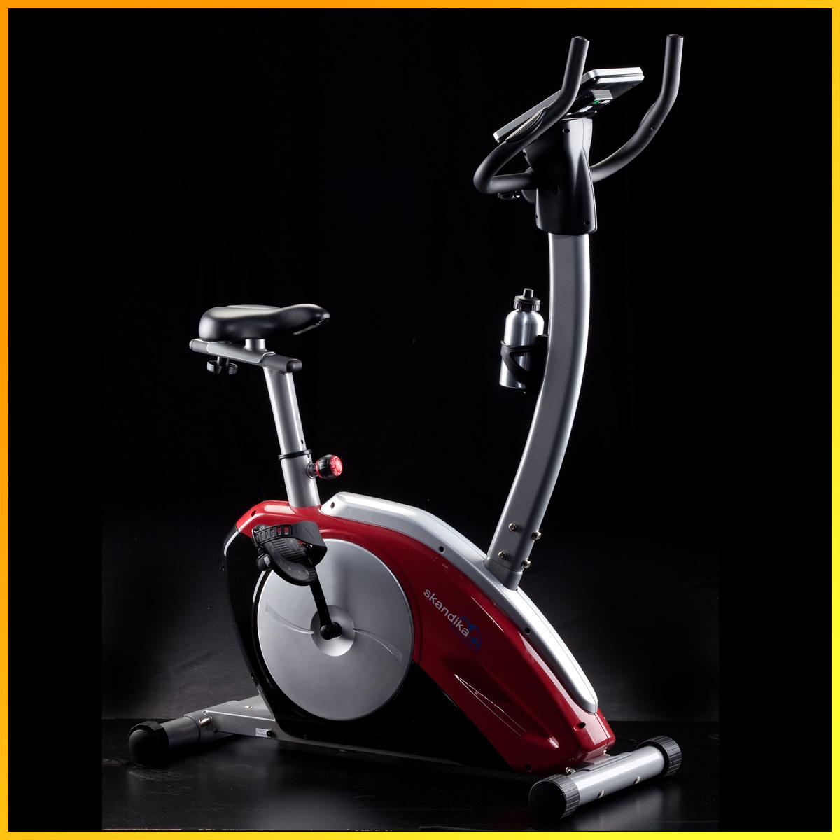 skandika fitness scorpius heimtrainer ergometer fahrrad neu ebay. Black Bedroom Furniture Sets. Home Design Ideas